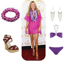 how to dress for a luau party with pictures