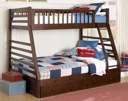 Bunk Beds  Twin Over Full Bunk Bed Metal Loft Bed Bunk Beds Full - Twin over full bunk bed with slide