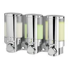 unique soap dispenser better living 76345 aviva soap dispenser iii the mine