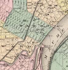 toledo ohio map toledo ohio 1872 map antique map maps and vintage prints