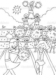 download coloring pages cheerleader coloring pages cheerleader