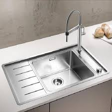 Blanco Andano XL  SIF Compact Stainless Steel Kitchen Sink - Compact kitchen sinks stainless steel