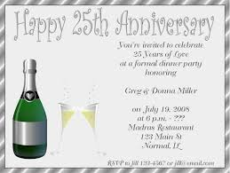anniversary party invitations wedding anniversary party invitations