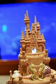 my disney life our sandcastle disney wedding cake in the living