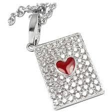 cartier heart diamond necklace images 30 carat opal diamond gold heart pendant at 1stdibs jpg