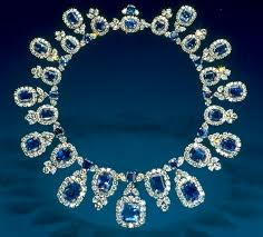 diamond sapphire necklace images Hall sapphire and diamond necklace jewels from the national jpg