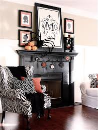 the yellow cape cod halloween mantel mantle the