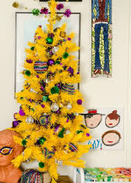 mardi gras tree decorations a christmas tree for all seasons including mardi gras