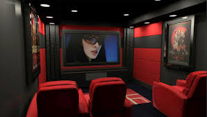 home theater interiors interior designs decor theatre room with white leather