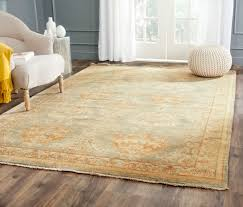 6x9 Wool Area Rugs Rug Osh125a Oushak Area Rugs By Safavieh