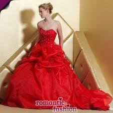 brautkleider rot rote brautkleider ebay