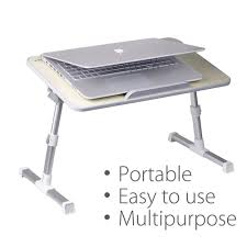 avantree quality adjustable laptop table avantree quality adjustable laptop table portable standing bed desk