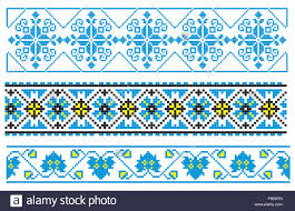 ukrainian ornaments vector illustrations of ukrainian embroidery ornaments patterns