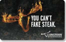 gift cards longhorn steakhouse restaurant