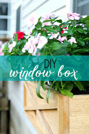 Beautiful Window Boxes How To Build A Cedar Window Box Planter