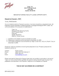 request for proposal cover letter sample choice image cover
