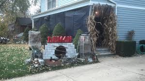 outdoor halloween decorating ideas easy best 25 halloween yard