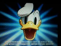 walt disney donald duck spike income tax returns films
