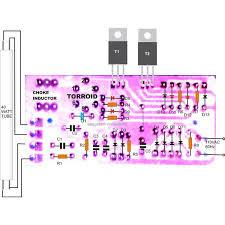 40 watt electronic ballast circuit