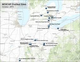 Map Of Ann Arbor Nexcap
