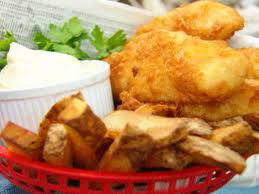 light batter for fish beer battered fish and chips recipe paula deen food network