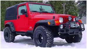 jeep rubicon 2017 maroon jeep bushwacker
