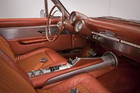 chrysler car interior 1963 chrysler turbine car ghia concepts