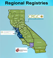 Los Angeles Regions Map by California Cancer Registry