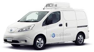 nissan van nissan imagines new ambulance electric delivery van in tokyo