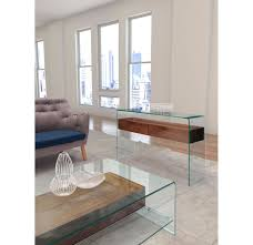 modern wooden console tables zuo modern shaman console table walnut 404067 modern furniture