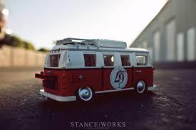 volkswagen van wallpaper stance works slammed lego volkswagen bus