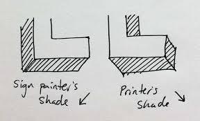 typekit practice using shades for eye catching emphasis
