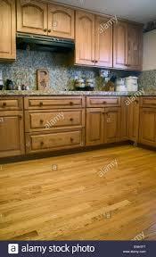 esperanza oak kitchen cabinets oak kitchen cabinets high resolution stock photography and