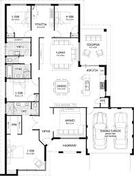 New Homes Floor Plans Home Design 4 Bedroom House Plan In Less Than 3 Cents Kerala And