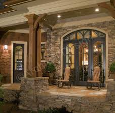 house plans with large front porch rustic house plans with large porches home floor ranch style big