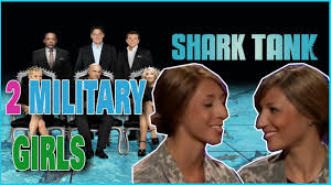 two military girls get the best 2 sharks to invest in their