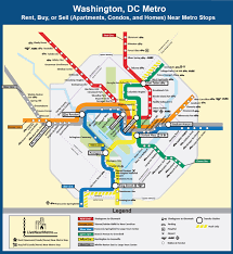 Washington Metro Map by Live Near A Metro Homes Condos Apartments For Sale And Rent