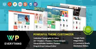 E Unlimited Home Design Wp Visual Composer Ecommerce Templates From Themeforest