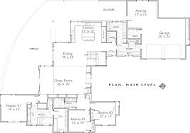 style house floor plans contemporary style house plan 4 beds 3 50 baths 3217 sq ft plan