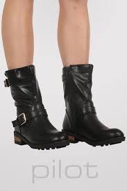 s boots calf length boots pilot