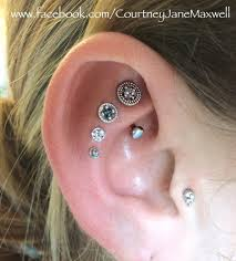 awesome cartilage earrings cartilage piercing and rook piercing with awesome