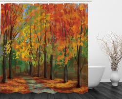 fall leaves country home decor seasonal romantic path extra long