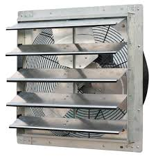 shutter exhaust fan 24 iliving 3300 cfm power 20 in variable speed shutter exhaust fan