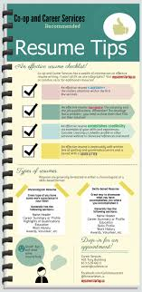 effective resumes tips resume tips an effective resume checklists visual ly