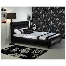 Cheap Leather Bed Frame Cheap Snow Handmade Leather Bed Frame For Sale At Cheapest Prices