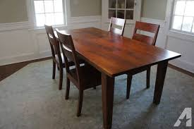 crate and barrel dining room tables crate barrel basque honey dining room set for sale in