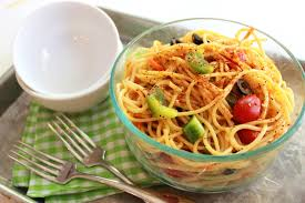 cold spaghetti salad the chic site
