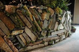 Garden Rock Wall by Rockwork At The San Francisco Flower U0026 Garden Show Jenny Nybro