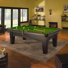 8ft brunswick pool table brunswick bayfield 8ft pool table in green costco uk