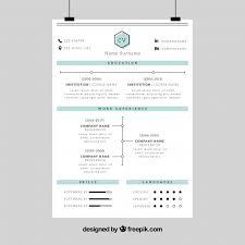 corporate resume template corporate resume template vector free